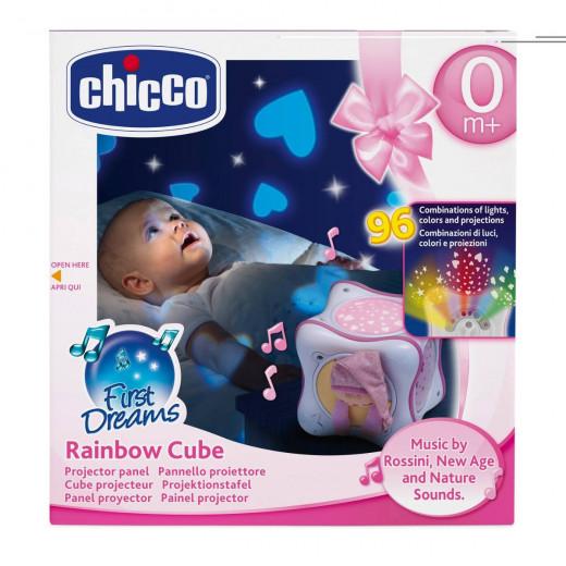 مكعب قوس قزح ذو أصوات لتهدئة الطفل من شيكو - وردي