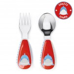 Skip Hop Zootensils Fork And Spoon - Shark