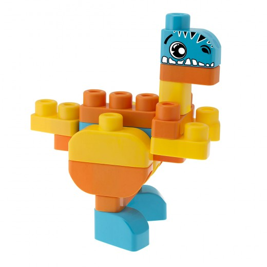 Chicco - Blocks Set 30 Pieces Dinosaurs