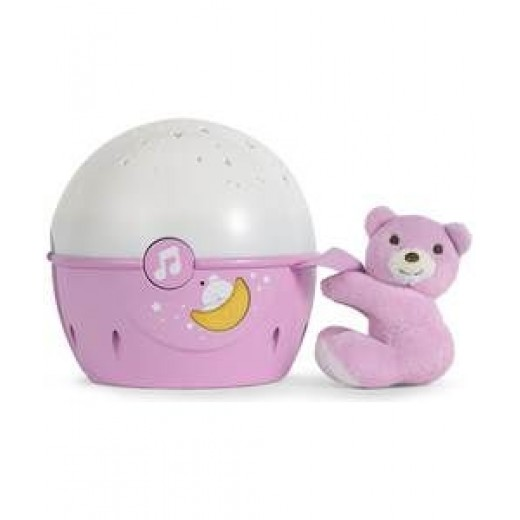 Chicco Next 2 Stars Crib Projector - Pink