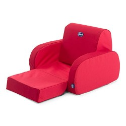Chicco Padded Chair Twist Sofa Red