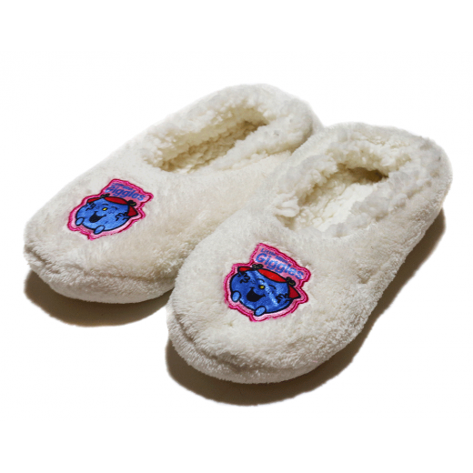 Winter slippers - White Little Miss - Medium Size