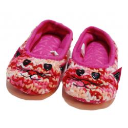Winter Slippers -Cat - Medium