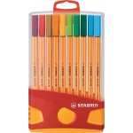 Stabilo Point 88 Pen Sets Color, Set of 20