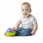 حافظة السناكات والوجبات الخفيفة على شكل وحش للأطفال من نوبي