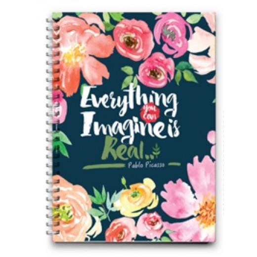 دفتر سلك صغير كل ما يمكنك تخيله حقيقي, 16 *11.5 سم