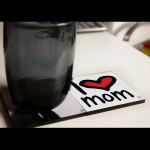 I Love Mum YMSketch Coaster