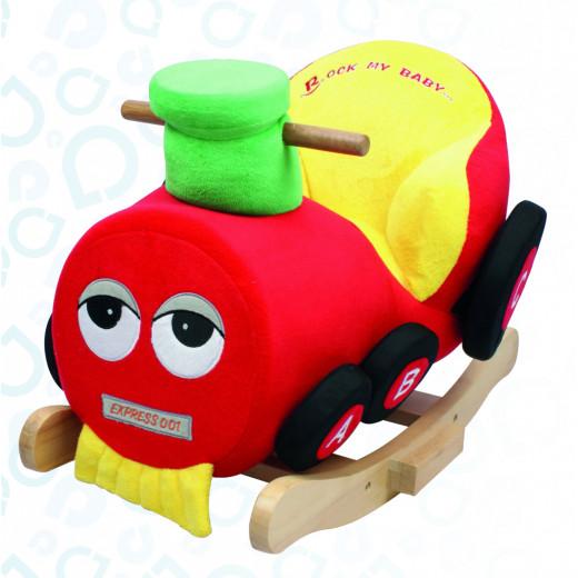 إي بيبي: كرسي هزاز للأطفال على شكل القطار
