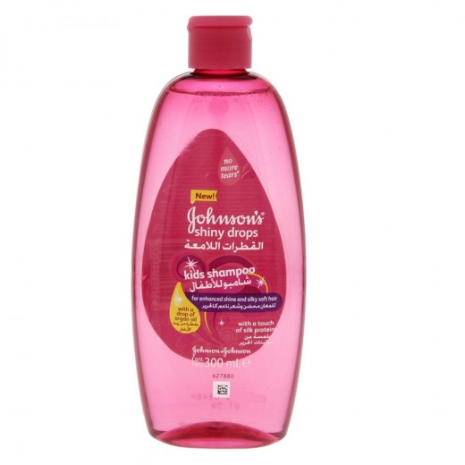 Johnson's Baby Shiny Drops Kids Shampoo 300ml