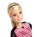 Barbie Made to Move Soccer Player Doll, Blonde
