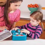 طقم حافظة الطعام للاطفال مع اشكال حديقة الحيوان من سكيب هوب, بومة