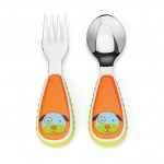 Skip Hop Zootensils Fork And Spoon - Dog