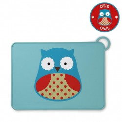 Skip Hop Baby Zoo Little Kid Placemats - Owl