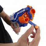 لعبة مسدس ايليت ديسرابتور من نيرف ان سترايك, ازرق