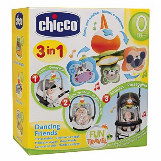 لعبة مع تعليقة لتهدئة الطفل بألوان رائعة من تشيكو