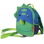 Skip Hop Zoo Let Children's Mini Back Pack With Reins - Dino