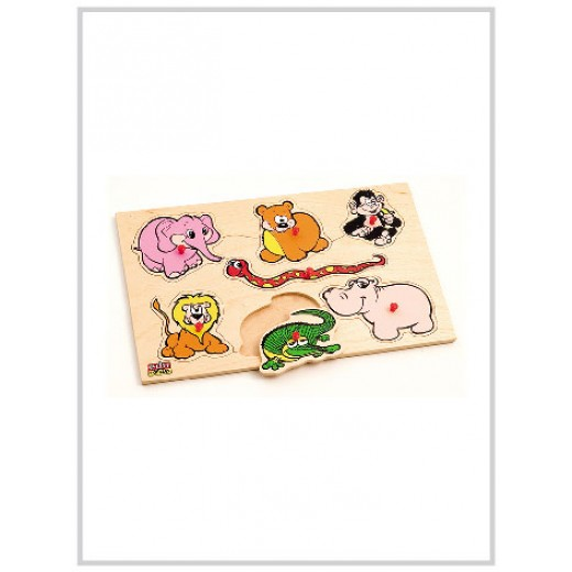 Edu Fun Insert Boards (Wild animals)
