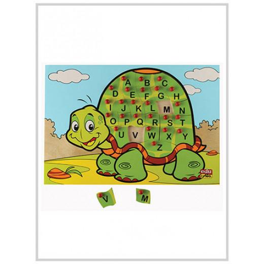 Edu Fun Letter puzzle (Turtle) English