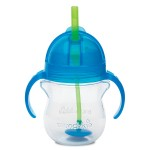Munchkin Click Lock Weighted Flexi-Straw Cup - 7oz (Blue)