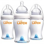 Munchkin Latch 8oz/240ml Bottle - 3 Pack