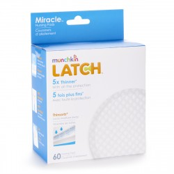 Munchkin Latch Miracle Nursing Pads - 60 Pack