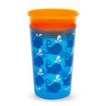 كوب للشرب  ميراكل ذو  360 درجة من مانشكين - 266 مل (اللون الازرق)