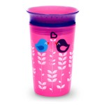 Munchkin Miracle 360° Deco Sippy Cup - 266 ml (Pink Bird)