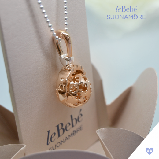 Le Bebe Gold Ball Necklace
