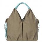 Lassig Neckline Bag -Taupe