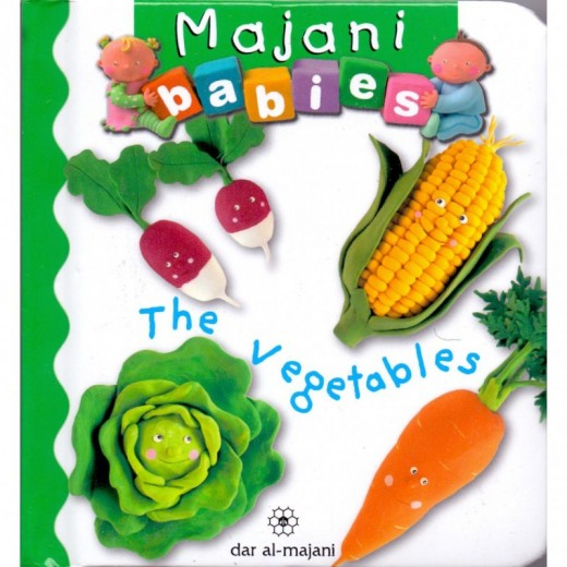 Majani Babies: The Vegetables - English