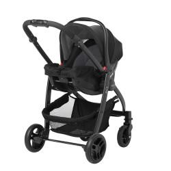 Graco Evo Avant Travel System With Car Seat, Black Grey