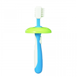 فرشاة أسنان التدريب التعليميه المستوى الثاني من بيجين , ازرق