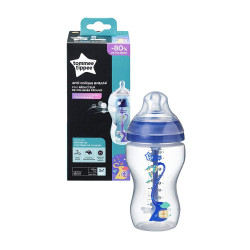Tommee Tippee Advanced Anti Colic Decorated Bottle, 340ml, Boy