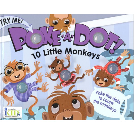 Poke-a-Dot:10 Little Monkeys