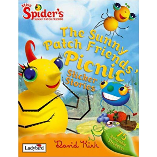 ladybird Miss spiders : sticer story