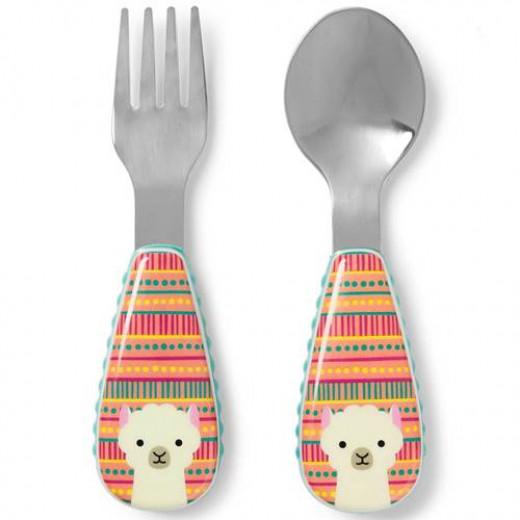 Skip Hop Zoo Tensils Utensil Set Llama