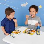 مجموعة أطباق ووعاء للأطفال خدمة ذكية من سكيب هوب, خفاش