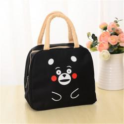 حقيبة حفظ طعام معزولة - الدب الأسود