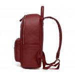 حقيبة الظهر لتنظيم حفاضات الطفل واحتياجاته, جلد أحمر من كولورلاند