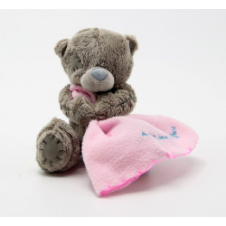 Me to You Blanket Teddy Bear, Pink