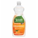Seventh Generation Natural Clementine & Lemongrass Dish Liquid 739ml