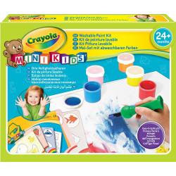 Crayola Mini Kids Washable First Paint Set, 24 Months