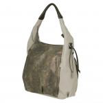 Lassig Hobo Bag, Olive-Beige