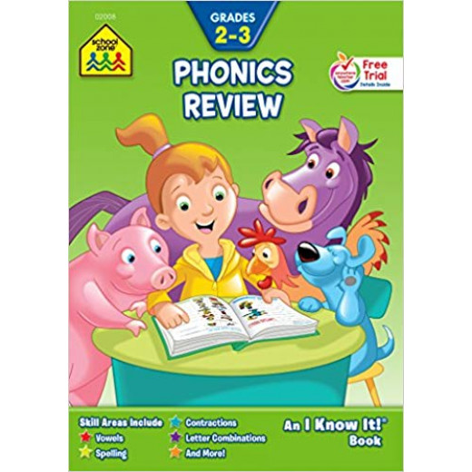 School Zone - Phonics Review an i know it ages 7-9