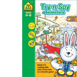School Zone - Try-n-Spy Adventure Ages 4-6