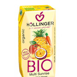 Hollinger Organic multi sunrise Juice 200ml