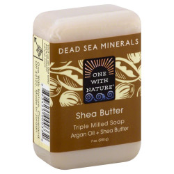 One With Nature Dead Sea Mineral Soap Shea Butter