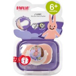 Farlin - Gulu Chu Pacifier 6+ - Purple