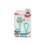 Farlin - Pacifier Clip for Baby Blue Owl 0+