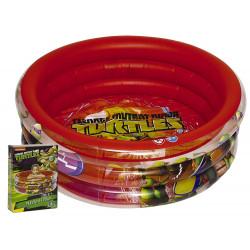 Giochi Preziosi - Turtles Swimming Pool 3 Tubes, 100x50 cm